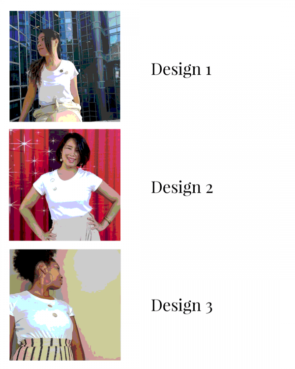 Variations of the tshirt Alba